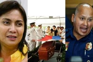 Kaayusan lang ang binabantayan! PNP Chief Dela Rosa insists police were unaware of Marcos' burial