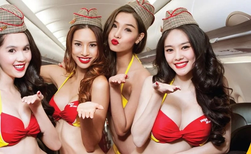 Flying with angels: 10 photos from the hottest airline in world!