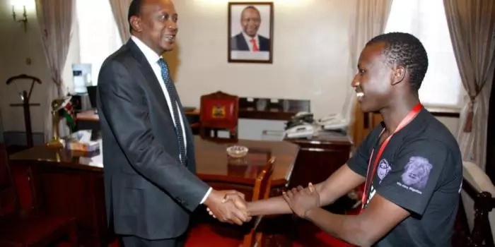 Uhuru's 'Son' doesn't see the president a lot