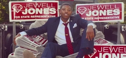 The youngest representative this U.S. state has ever had ONLY NOW graduated from college (photos)