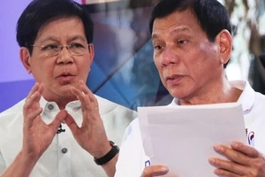 Worried Lacson urges embattled Duterte to probe trust rating decrease in latest survey