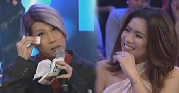 Angeline Quinto makes Vice cry in GGV