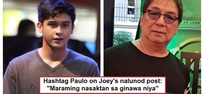 "Hashtags member Paulo Angeles opens up about tweeting against Joey de Leon's ""nalunod"" comment: ""Nasaktan ako"""