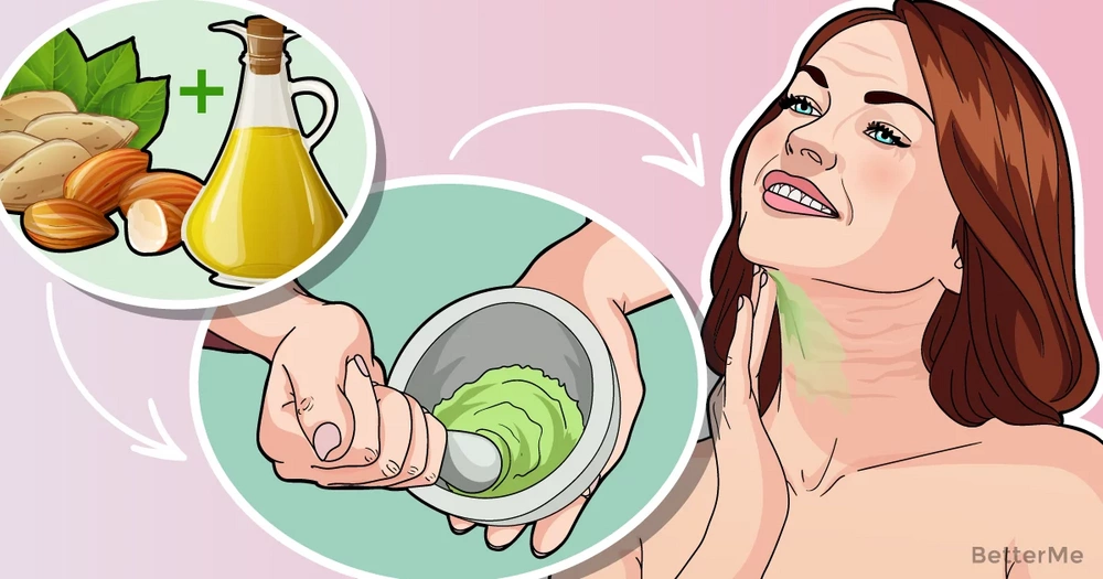 Homemade creams for a younger-looking neck