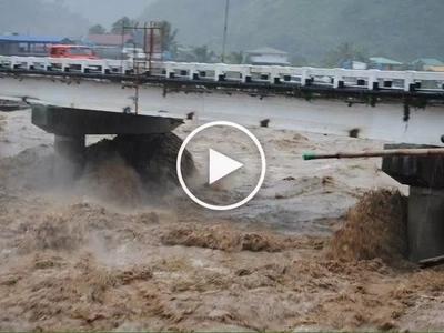 Nakakakilabot! Netizen shares horrifying clips of supertyphoon Lawin