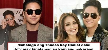 May kinalaman sa nakaraan! Daniel Padilla's penchant for shades is involved with his past way before he became Kath's DJ