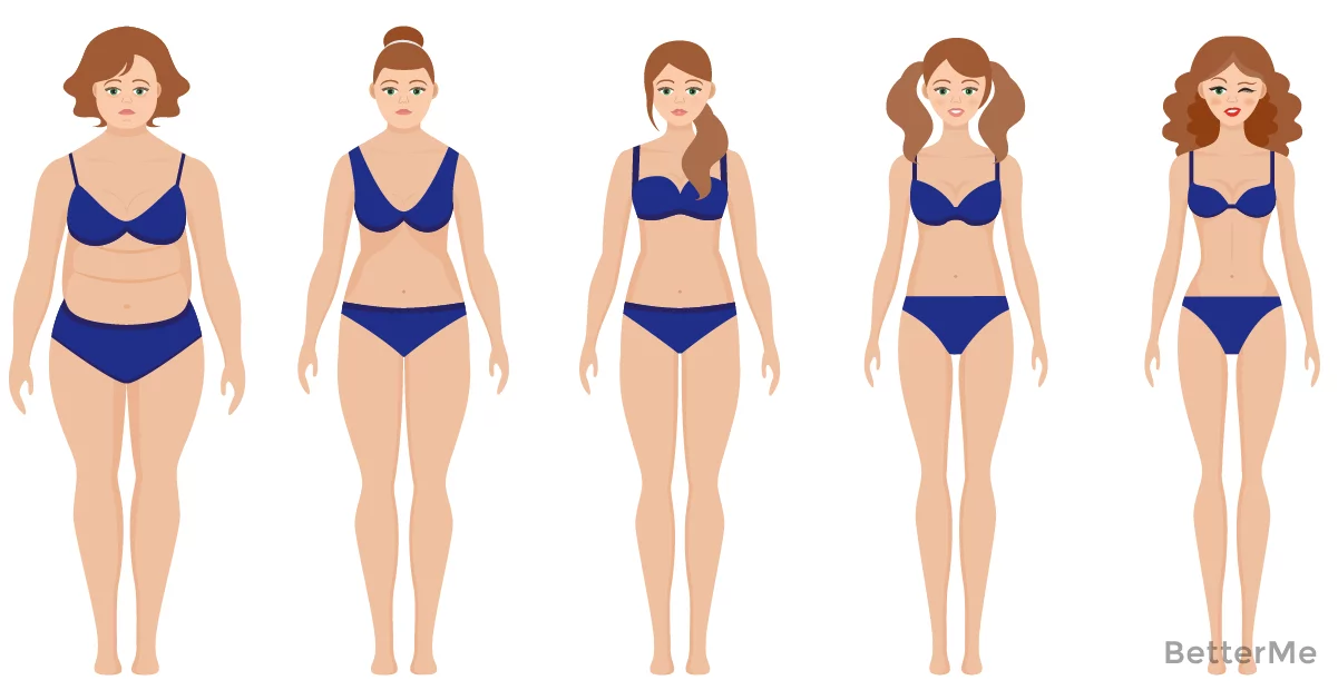 Calculate your ideal weight according to your body shape, age and height