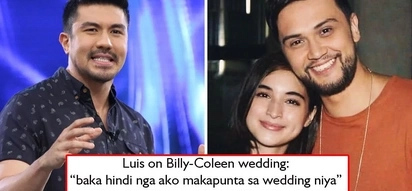 Anyare? Luis Manzano reveals he may not be able to attend Billy Crawford and Coleen Garcia's wedding - 'Malabo ako'