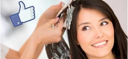 Puedes pintar tu cabello sin usar químicos, olvídate de las canas