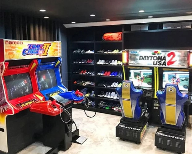 Bimby and Josh's entertainment room is every kid's dream!