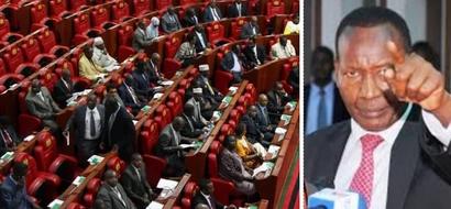 Rais Uhuru Kenyatta amteuwa waziri wa Elimu Fred Matiang'i kujaza pengo alowacha Nkaissery