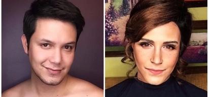 Walang kupas! Paolo Ballesteros shows off his amazing Emma Watson make up transformation