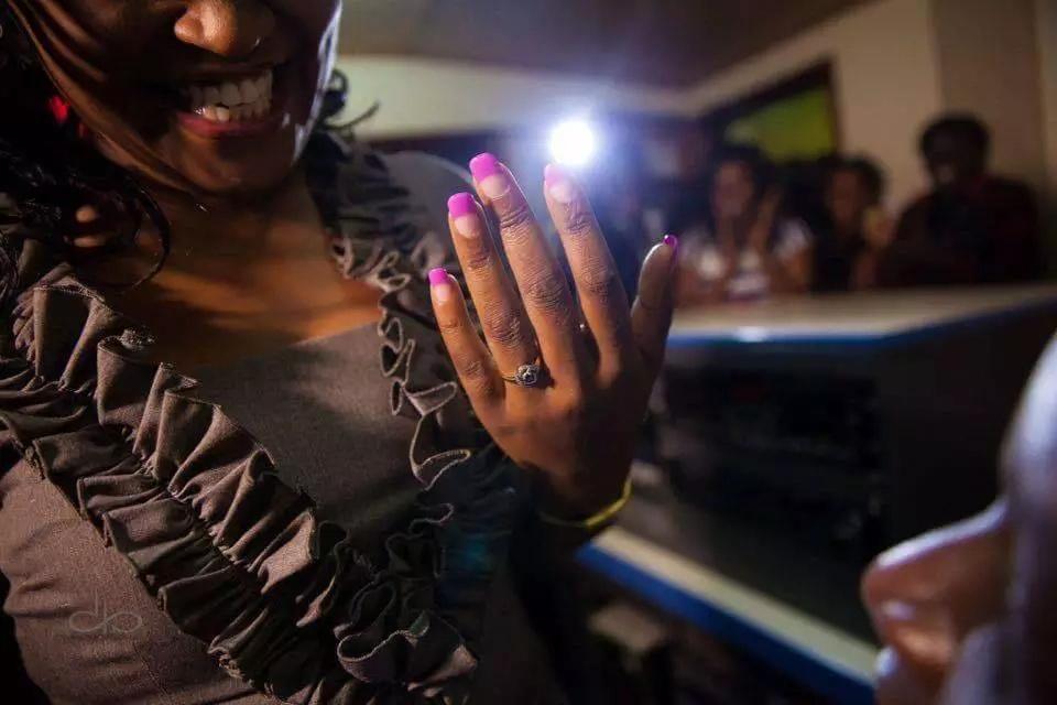 How David Osiany proposed to Syombua Mwele live on radio