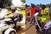 Former Arsenal star Emmanuel Adebayor shows off amazing rides (photos)