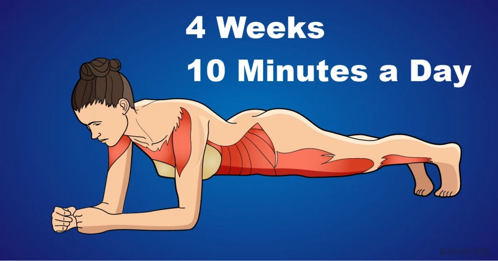 4 weeks challenge can help you shape well-built body
