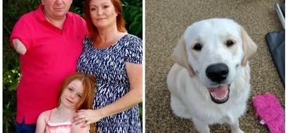 40-year-old father lost his arm after family PUPPY bit and infected him with deadly bacteria (photos)