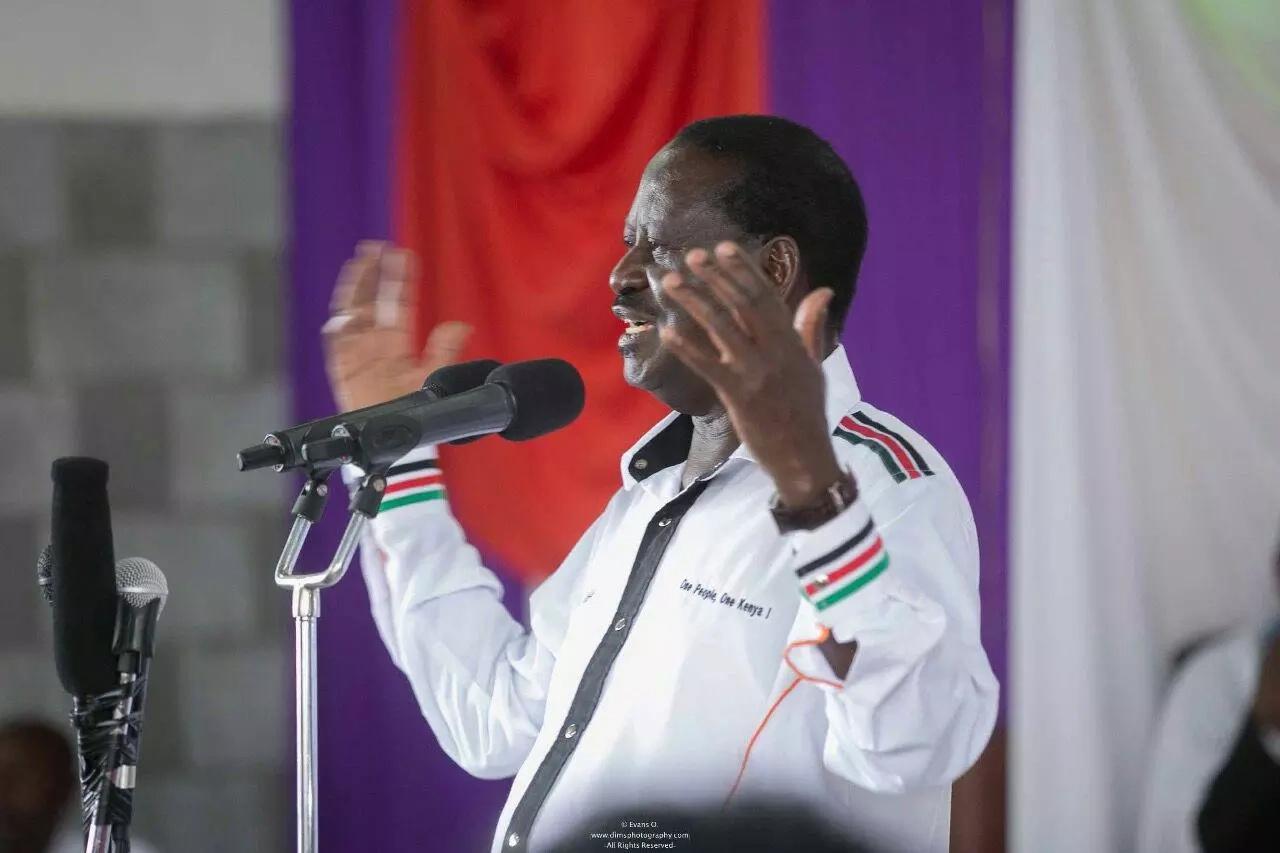 Uhuru is my younger brother, heshimu mzee-Raila