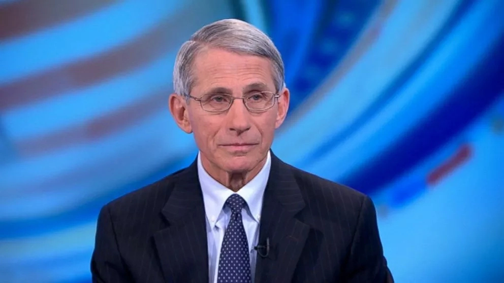 Dr. Anthony Fauci, head of the US National Institute of Allergy and Infectious Diseases. Photo: ABC News