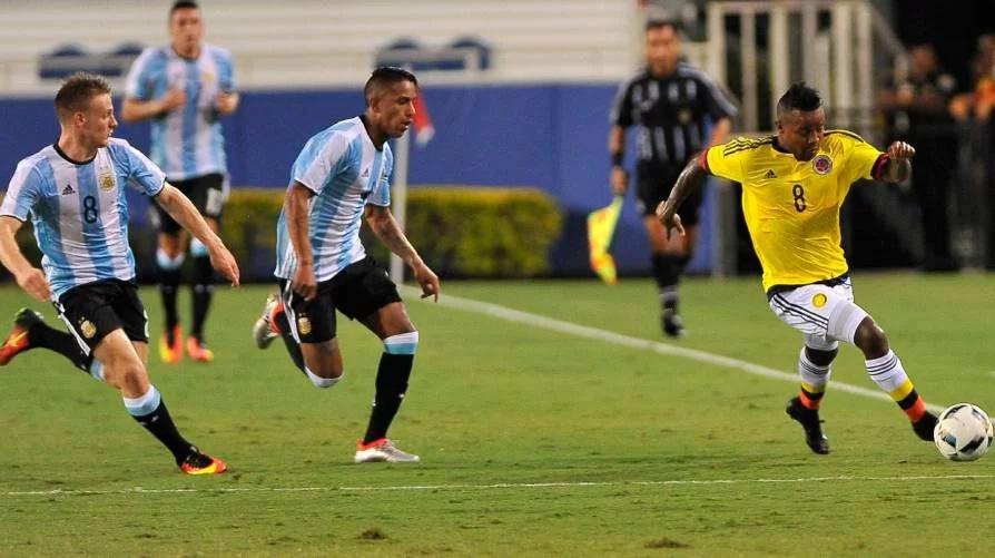Colombia igualó con Argentina en amistoso rumbo a Olímpicos