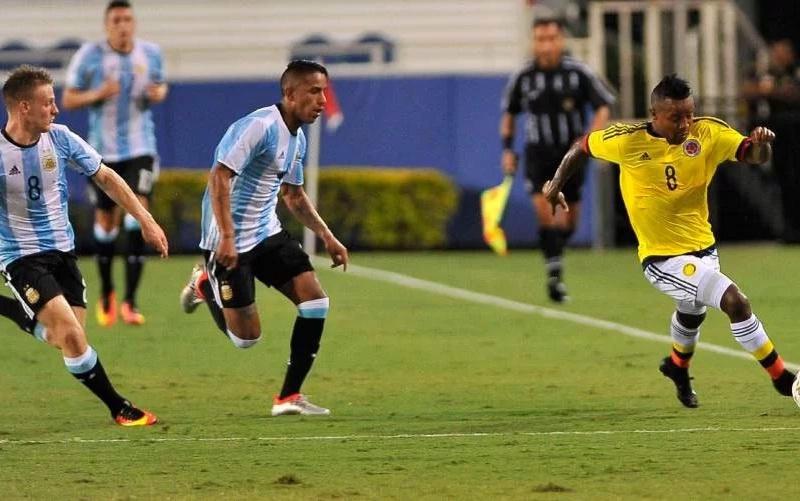 Colombia empató con Argentina en amistoso rumbo a Olímpicos