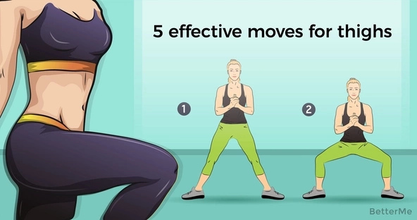 5 effective moves that can help you get leaner thighs