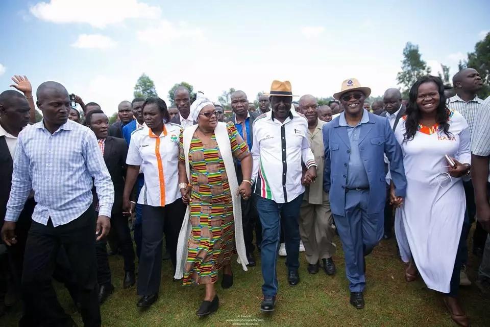 IEBC reveals how ballot papers in battle between Uhuru and Raila will look like