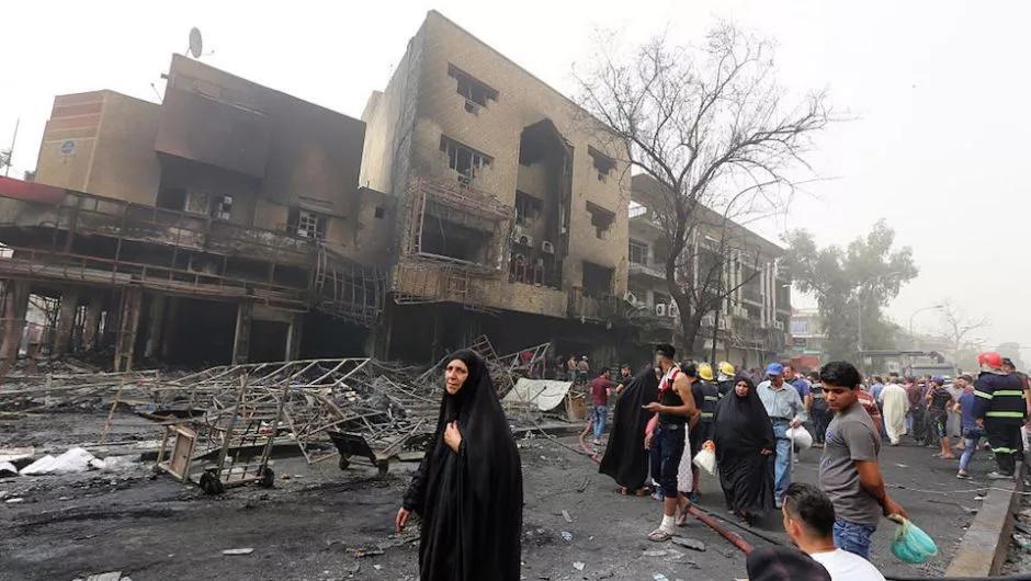 Atentado terrorista en Bagdad
