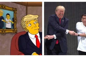 Duterte, Trump appear on popular US cartoon 'The Simpsons'