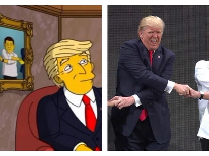 Duterte, Trump appear on popular US cartoon 'The Simpsons'