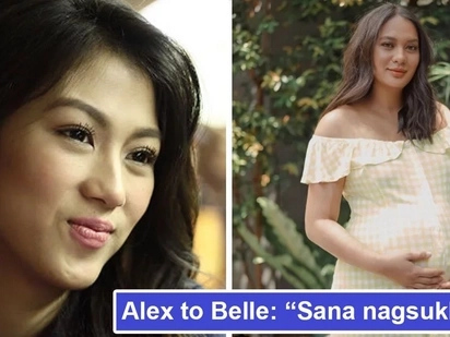 Netizens react to Alex Gonzaga's 'suklay' comment on Isabelle Daza's unkempt hair