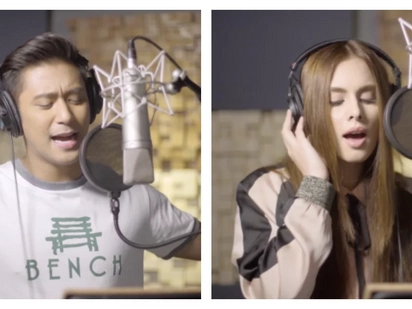 Rocco Nacino, Max Collins pay tribute to OFW parents with touching music video for 'Anak'