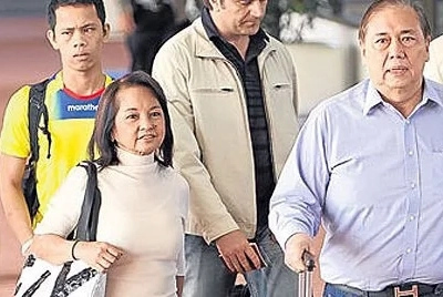 Free to go! Arroyo allowed to travel abroad with hubby