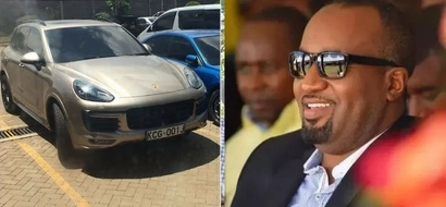 REVEALED: Popular TV girl driving a KSh 15 million car registered under Hassan Joho