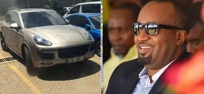 REVEALED: Popular TV girl driving a KSh 15 million car registered under Hassan Joho