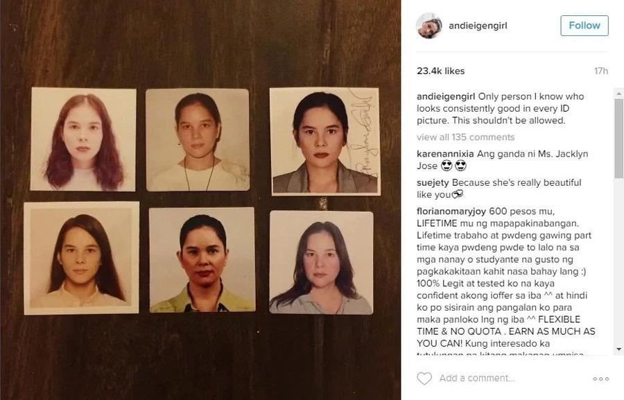 Andie Eigenmann posts throwback photos of Jaclyn Jose
