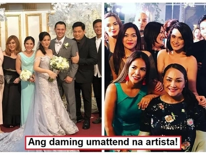 Star-studded talaga! Celebrities who attended Gladys Reyes and Christopher Roxas' renewal of vows