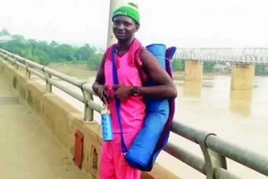 Man treks from Lagos to Zaria to prove his love but the girl thinks he is 'mentally unstable'
