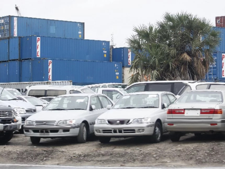 The cost of importing a car from Japan to Kenya