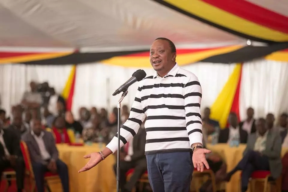 I'm ready for you-Uhuru tells Raila.