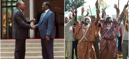 Council of elders drawn from GEMA community laud Uhuru-Raila political deal