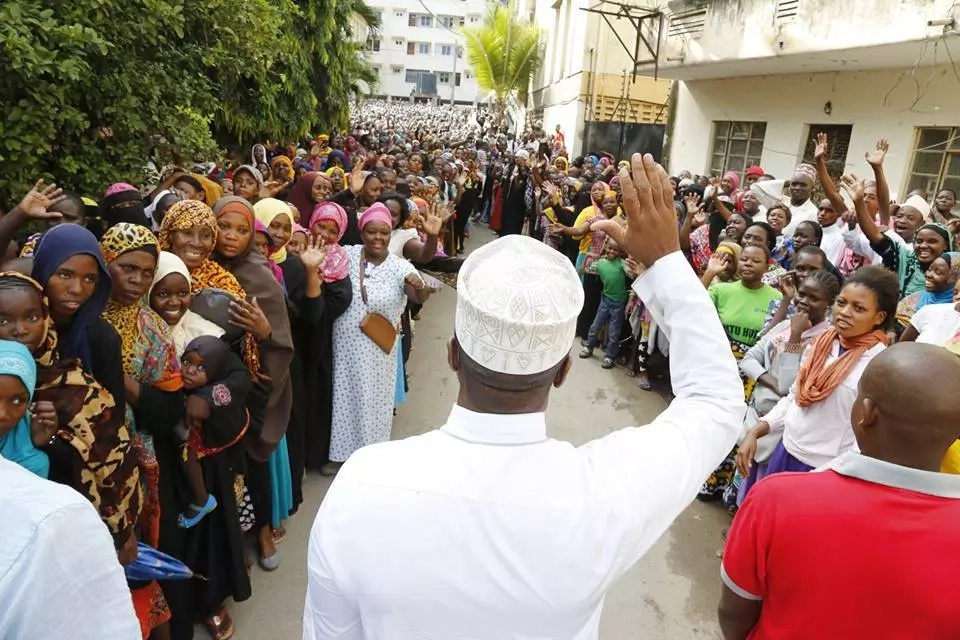 Photos that prove Hassan Joho is still the darling of many Mombasa residents