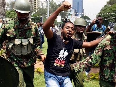 Activist Boniface Mwangi talks about his death in a horrific video