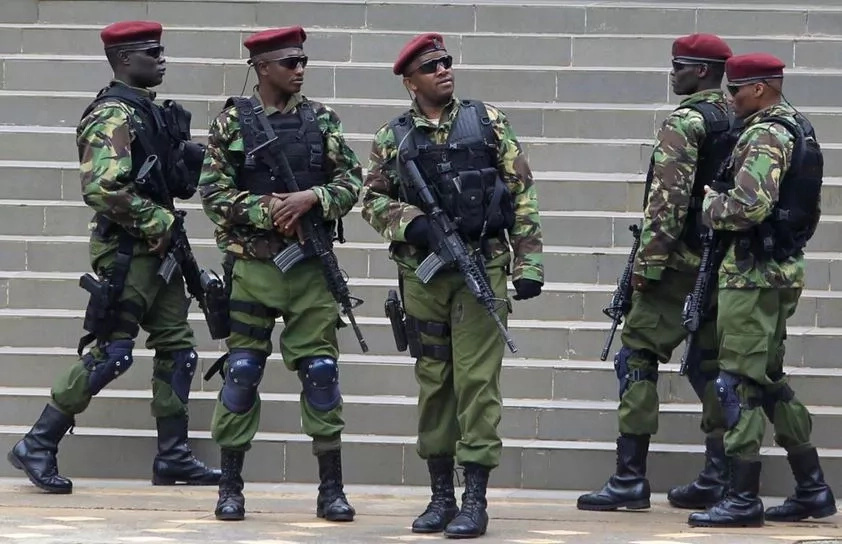 Recce Squad officer shoots girlfriend, then shoots himself in Ruiru
