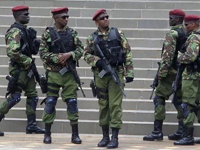 Elite Recce squad officers guarding Uhuru Kenyatta KILLED in Naivasha tragedy