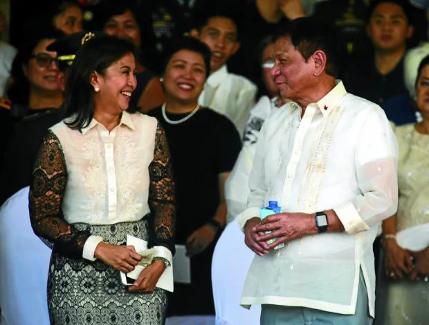 Duterte, Robredo first time to attend Cabinet meting together