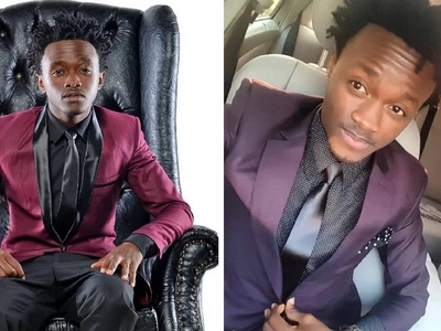 How singer Bahati started his career can make you laugh