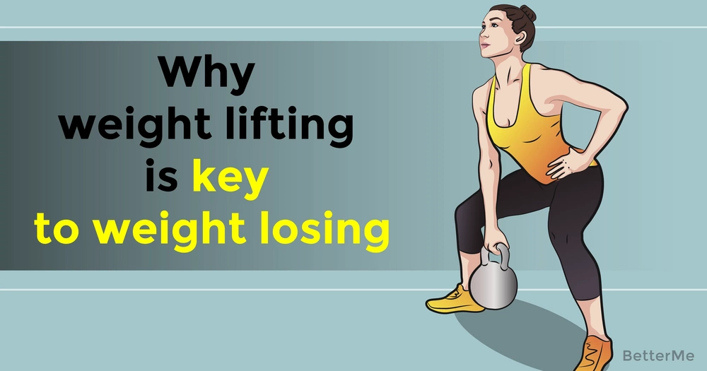 Why weight lifting is key to weight losing