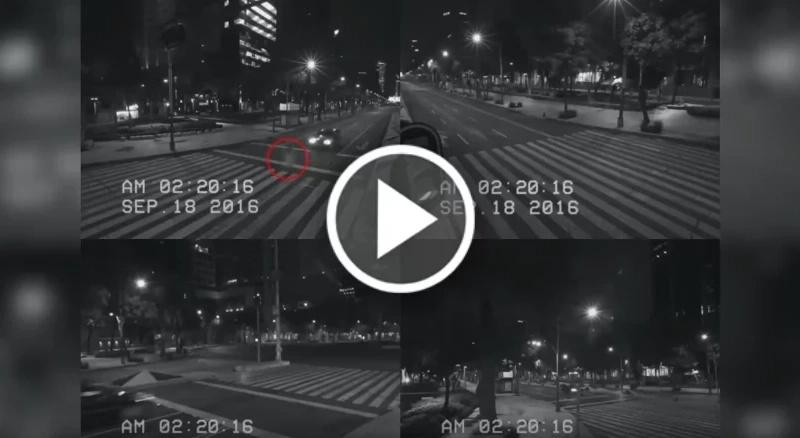 Los fantasmas son reales, la prueba fue captada en Ciudad de México