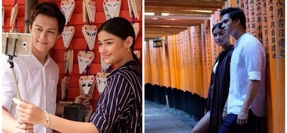 Ang sweet nanaman nila! Liza Soberano and Enrique Gil enjoy their Japan trip as its newest tourism ambassadors