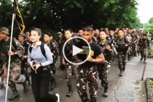WATCH: Anne Curtis trains with Scout Rangers for upcoming film